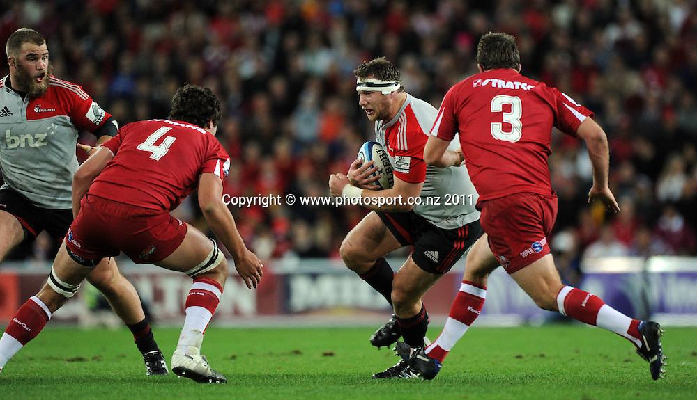 Super Rugby Final 2011. Reds v Crusaders, Brisbane. Saturday 9 July, Suncorp Stadium, Brisbane, Australia. Photo: Andrew Cornaga / photosport.co.nz