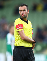 04.05.2019, Pappelstadion, Mattersburg, AUT, 1. FBL, SV Mattersburg vs Cashpoint SCR Altach, Qualifikationsgruppe, 29. Spieltag, im Bild Stefan Ebner (Schiedsrichter, Referee) // during the tipico Bundesliga qualification group 29th round match between SV Mattersburg and Cashpoint SCR Altach at the Pappelstadion in Mattersburg, Austria on 2019/05/04. EXPA Pictures © 2019, PhotoCredit: EXPA/ Thomas Haumer