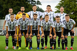 Team NS Mura before Football match between NS Mura (SLO) and Maccabi Haifa (IZR) in First qualifying round of UEFA Europa League 2019/20, on July 18, 2019, in Stadium Fazanerija, Murska Sobota, Slovenia. Photo by Blaž Weindorfer / Sportida