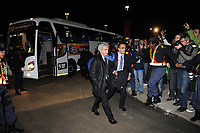 FOOTBALL - FIFA WORLD CUP 2010 - MISCS - GROUP A - TEAM'S PLAYERS FRANCE LEAVE SOUTH AFRICA AFTER THEIR WORLD CUP'S ELIMINATION - 22/06/2010 - RAYMOND DOMENECH<br /> PHOTO FRANCK FAUGERE / DPPI