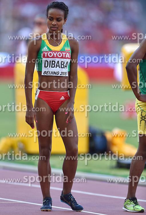 27-08-2015 CHN: IAAF World Championships Athletics day 6, Beijing<br /> Genzebe Dibaba at start of  5000 m
