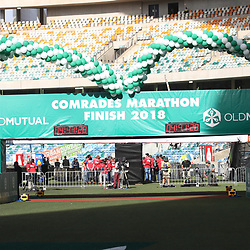 General views during the 2018 Comrades Marathon at the Moses Mabhida Stadium, Durban,South Africa.10,06,2018 Photo by (Steve Haag)