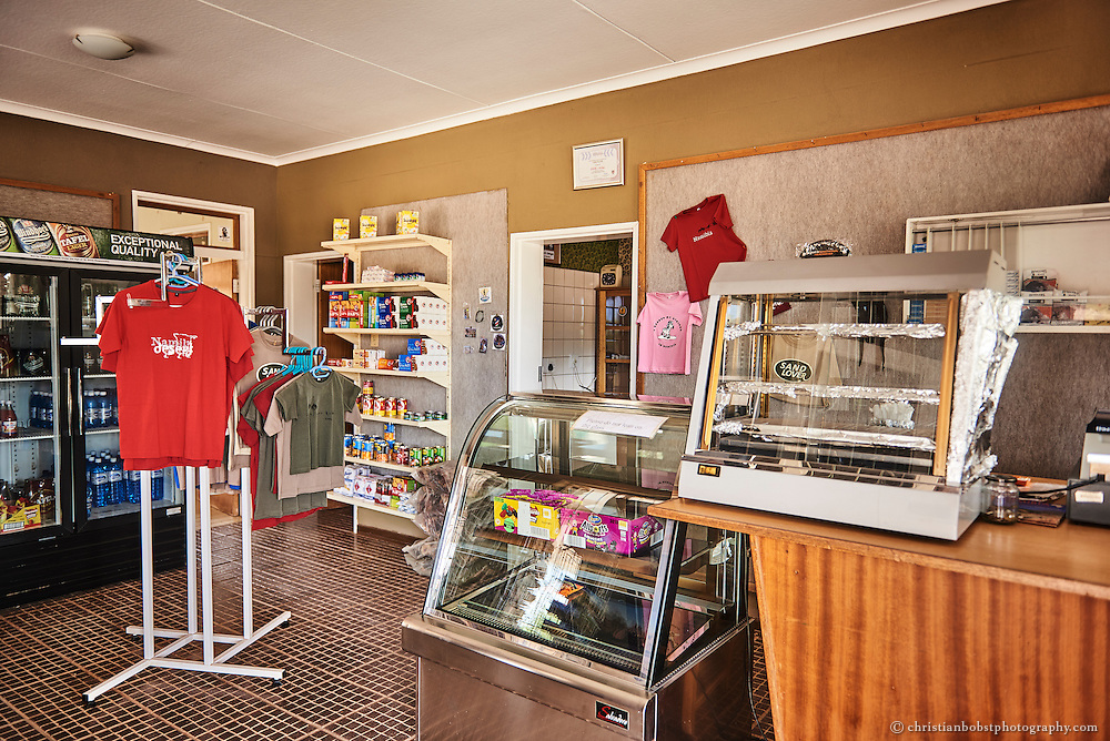 Bei der Pforte zum Fishriver Canyon Nationalpark in Hobas gibt es einen kleinen Kiosk mit Souvenirs und Erfrischungen.