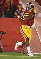 September 26, 2009: Iowa State wide receiver Marquis Hamilton (82) pulls in a recption during the second half of the Iowa State Cyclones' 31-10 win over the Army Black Knights at Jack Trice Stadium in Ames, Iowa on September 26, 2009.