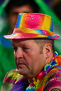 Darts fan in fancy dress during the World Darts Championships 2018 at Alexandra Palace, London, United Kingdom on 21 December 2018.