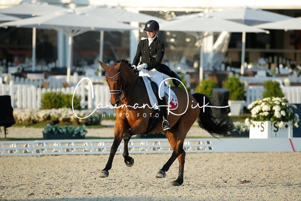 Von Bremen Philine, (SUI), Artemis<br /> Grand Prix U25<br /> CDIO Hagen 2015<br /> © Hippo Foto - Stefan Lafrentz