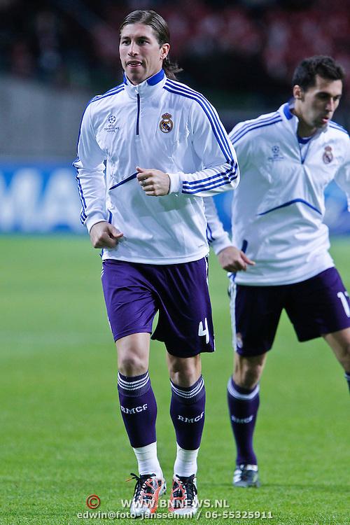 NLD/Amsterdam/20101123 - Ajax - Real Madrid, Sergio Ramos (4)