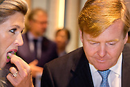 31-10-2014 - TOKYO - King Willem Alexander and Queen Maxima Food &amp; Agribusiness Conference 'Agribusiness opportunities in Japan' <br />  Speech of the King. <br />  on day 3 , during a 3 days State visit of king Willem alexander and queen Maxima to Japan tokio .  COPYRIGHT ROBIN UTRECHT