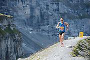 Schweizer Marathon-Rekordhalter Viktor Röthlin am 21. Jungfrau-Marathon 2013
