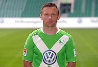 German Soccer Bundesliga - Photocall VfL Wolfsburg on 30 July 2014 in Wolfsburg, Germany: Ivica Olic.