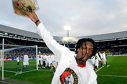 27-04-2008 VOETBAL: KNVB BEKERFINALE FEYENOORD - RODA JC: ROTTERDAM <br /> Feyenoord wint de KNVB beker - Serginho Green<br /> ©2008-WWW.FOTOHOOGENDOORN.NL