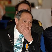 NLD/Huizen/20060323 - Afscheid burgemeester Jos Verdier als burgemester van Huizen, burgemeester Jos Verdier geemotioneerd