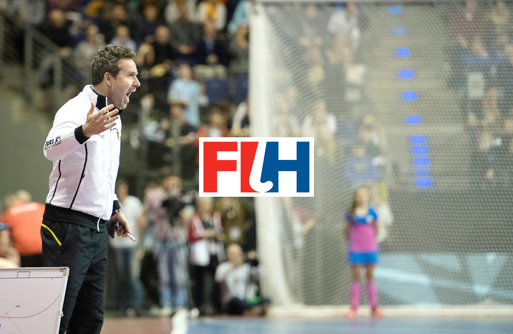 BERLIN - Indoor Hockey World Cup<br /> Final: Germany - Austria<br /> foto: KERMAS Stefan <br /> WORLDSPORTPICS COPYRIGHT FRANK UIJLENBROEK