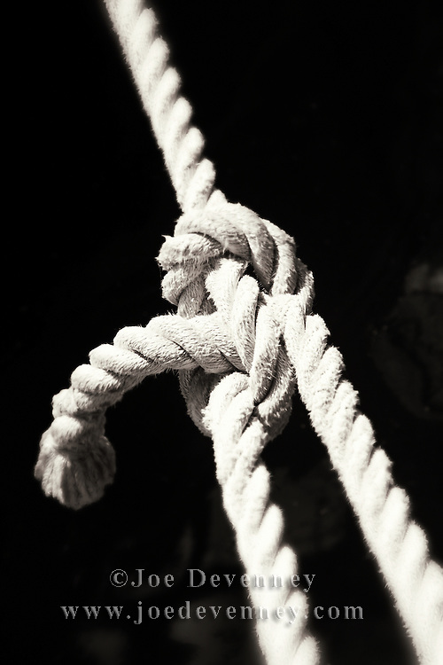 Knot in a rope