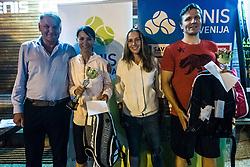 PRO AM tennis tournament event by Tennis Slovenia, on September 20th, 2018 in Tennis center Tivoli, Ljubljana, Slovenia. Photo Credit Grega Valancic