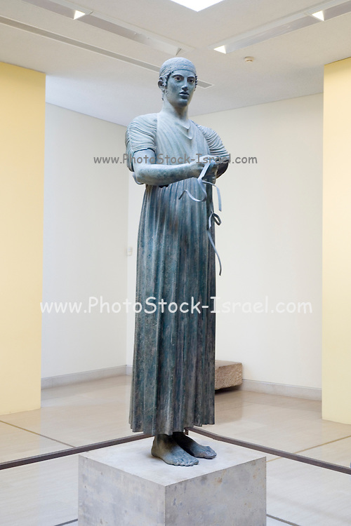 charioteer - exhibit at Delphi Archaeology Museum