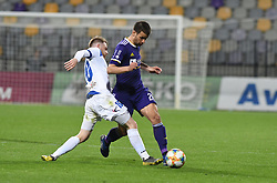 Rudi Požeg Vancaš of Celje and Mitja Viler of Maribor in action during football match between NK Maribor and NK Celje in Round #24 of Prva liga Telekom Slovenije 2018/19, on March 30, 2019 in stadium Ljudski vrt, Maribor, Slovenia. Photo by Milos Vujinovic / Sportida