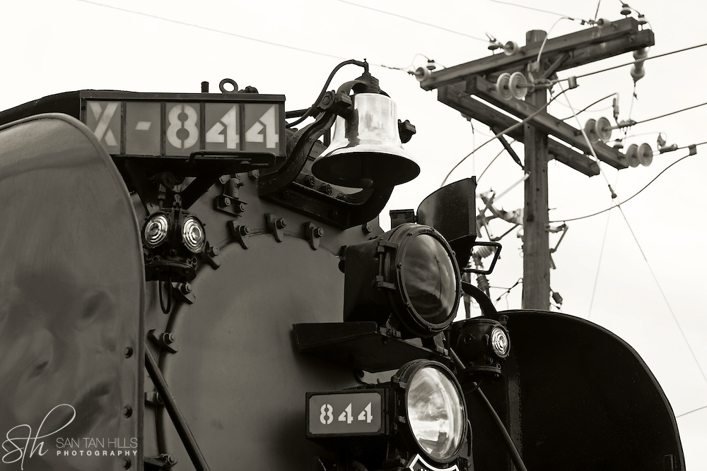 Union Pacific Steam Engine in Gilbert, AZ