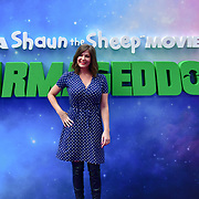 Lucy Horobin attend the Shaun the Sheep Movie: Farmageddon, at ODEON LUXE on 22 September 2019,  London, UK.
