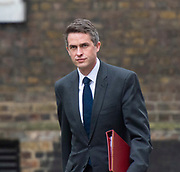 Cabinet Meeting arrivals - members of the Cabinet arrive for a long cabinet meeting scheduled from 9 am to 12 pm on <br /> 2nd April 2019 <br /> Downing Street, London, Great Britain <br /> <br /> <br /> <br /> The Rt Hon Gavin Williamson CBE MP<br /> Secretary of State for Defence<br /> <br /> The Rt Hon David Gauke MP<br /> Lord Chancellor and Secretary of State for Justice<br /> <br /> The Rt Hon Jeremy Hunt MP<br /> Foreign Secretary<br /> <br /> <br /> The Rt Hon Greg Clark MP<br /> Secretary of State for Business, Energy and Industrial Strategy<br /> <br /> The Rt Hon Sajid Javid MP<br /> Home Secretary <br /> <br /> The Rt Hon Liam Fox MP<br /> Secretary of State for International Trade and President of the Board of Trade<br /> <br /> The Rt Hon Damian Hinds MP<br /> Secretary of State for Education<br /> <br /> The Rt Hon<br /> Amber Hunt<br /> Secretary of State for Work and Pensions<br /> <br /> The Rt Hon Chris Grayling MP<br /> Secretary of State for Transport<br /> <br /> The Rt Hon<br /> James Brokenshire MP<br /> Secretary of State for Housing, Communities and Local Government<br /> <br /> <br /> The Rt Hon David Mundell MP<br /> Secretary of State for Scotland<br /> <br /> <br /> The Rt Hon Alun Cairns  MP<br /> Secretary of State for Wales<br /> <br /> <br /> The Rt Hon Karen Bradley MP<br /> Secretary of State for Northern Ireland<br /> <br /> <br /> The Rt Hon Penny Mordaunt MP<br /> Secretary of State for International Development<br /> <br /> The Rt Hon<br /> Elizabeth Truss MP<br /> Chief Secretary to the Treasury<br /> <br /> The Rt Hon<br /> Geoffrey Cox QC MP<br /> Attorney General<br /> <br /> The Rt Hon<br /> Caroline Nokes MP<br /> Minister of State for Immigration<br /> <br /> <br /> The Rt Hon<br /> Matt Hancock MP<br /> Secretary of State for Health and Social Care<br /> <br /> The Rt Hon<br /> Stephen Barclay MP<br /> Secretary of State for Exiting the European Union<br /> <br /> <br /> <br /> Photograph by Elliott Franks