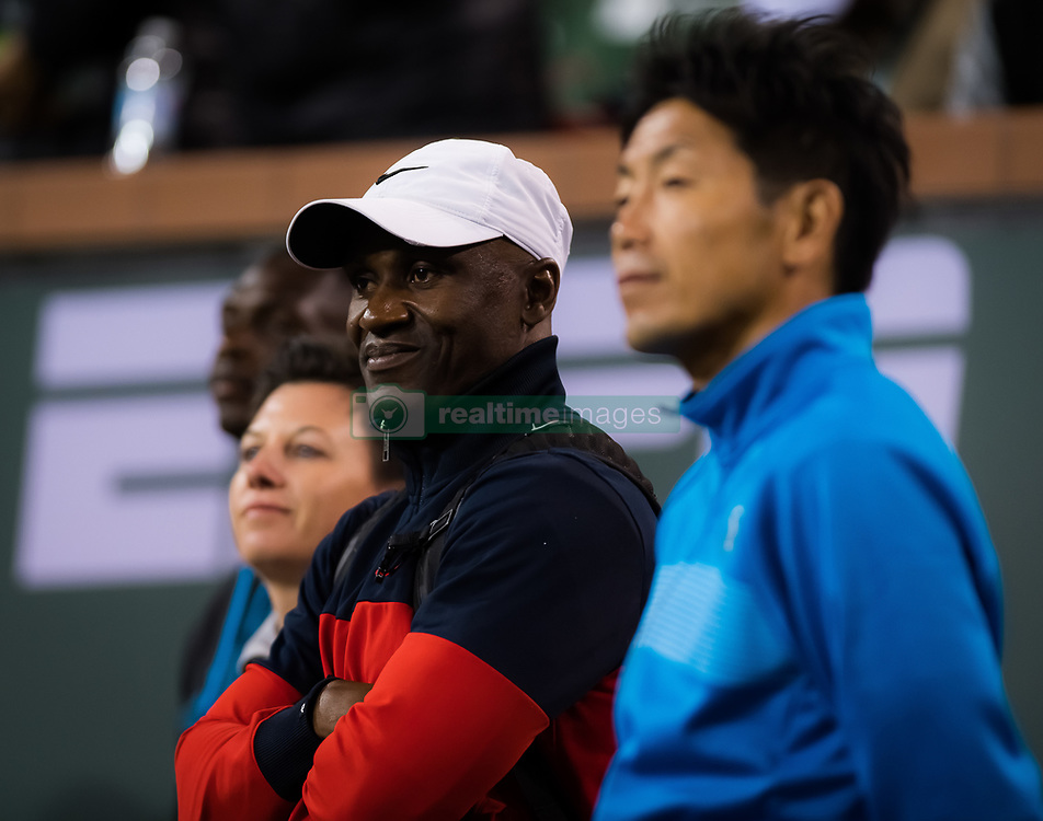 March 9, 2019 - Indian Wells, USA - Naomi Osakas Team after their second-round match at the 2019 BNP Paribas Open WTA Premier Mandatory tennis tournament (Credit Image: © AFP7 via ZUMA Wire)