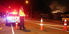 Rotorua-Fire at Rotorua Girls High School