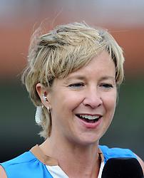 Former England Women's Clare Connor looks on - Photo mandatory by-line: Harry Trump/JMP - Mobile: 07966 386802 - 21/07/15 - SPORT - CRICKET - Women's Ashes - Royal London ODI - England Women v Australia Women - The County Ground, Taunton, England.