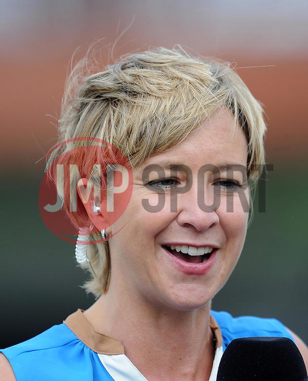Former England Women's Clare Connor looks on - Photo mandatory by-line: Harry Trump/JMP - Mobile: 07966 386802 - 21/07/15 - SPORT - CRICKET - Women's Ashes - Royal London ODI - England Women v Australia Women - The County Ground, Taunton, England.