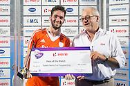 BHUBANESWAR  (INDIA)  -   Champions Trophy Hockey.  Netherlands vs Germany (4-1).  Robert van der Horst , Hero of the Match. .  .