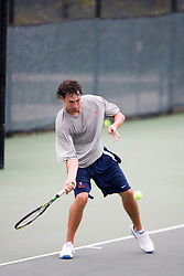 Houston Barrick - University of Virginia..The 6th Annual Virginia Fall Invitational Men's NCAA Tennis tournament was held in Charlottesville, VA on September 14, 2007.