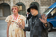 GRAYSON PERRY; RON ARAD, Royal Academy Annual dinner, Piccadilly, London. 6 June 2016