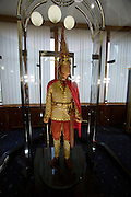 """President's Museum (former Presidential Palace). Copy of the """"Golden Man""""."""