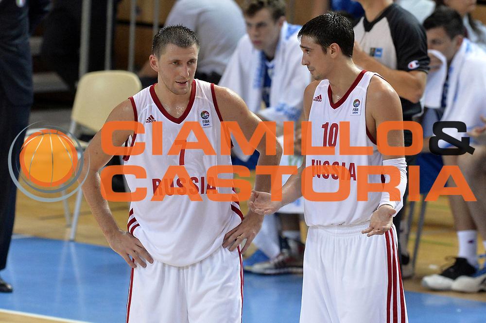 DESCRIZIONE : Capodistria Koper Slovenia Eurobasket Men 2013 Preliminary Round Russia Italia Russia Italy<br /> GIOCATORE : Vitaliy Fridzon Aleksey Shved<br /> CATEGORIA : Delusione<br /> SQUADRA : Russia<br /> EVENTO : Eurobasket Men 2013<br /> GARA : Russia Italia Russia Italy<br /> DATA : 04/09/2013<br /> SPORT : Pallacanestro&nbsp;<br /> AUTORE : Agenzia Ciamillo-Castoria/GiulioCiamillo<br /> Galleria : Eurobasket Men 2013 <br /> Fotonotizia : Capodistria Koper Slovenia Eurobasket Men 2013 Preliminary Round Russia Italia Russia Italy<br /> Predefinita :
