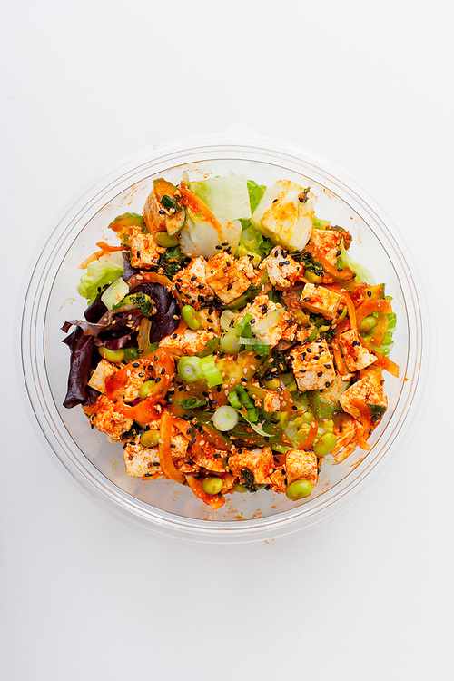 Gochu Tofu Poke from Poke Works ($3.46) - MealPal Promo (50% off)