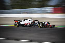 May 11, 2018 - Barcelona, Catalonia, Spain - KEVIN MAGNUSSEN (DAN) drives during the second practice session of the Spanish GP at Circuit de Catalunya in his Haas VF-18 (Credit Image: © Matthias Oesterle via ZUMA Wire)