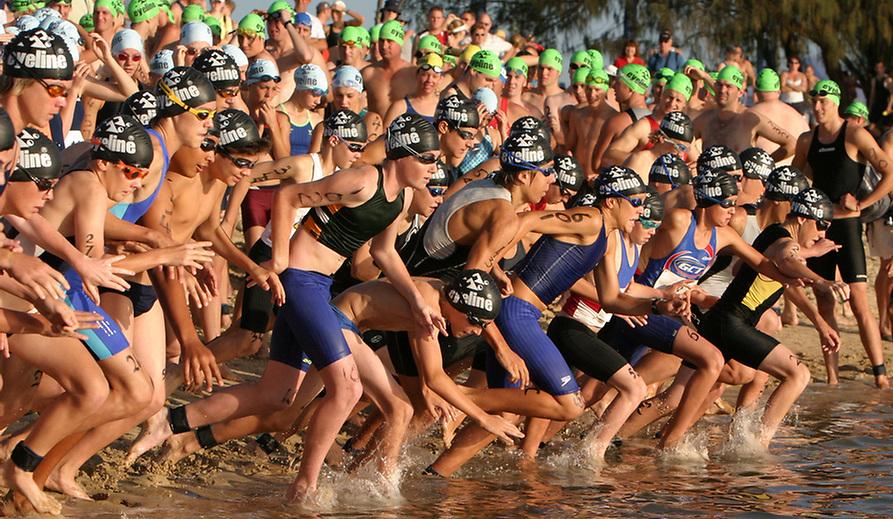 Gold Coast Tri Race Start