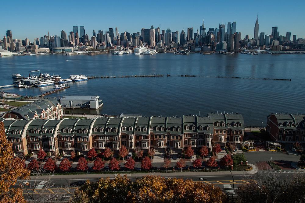 Manhattan skyline from Hamilton Park, Weehawken, New Jersey
