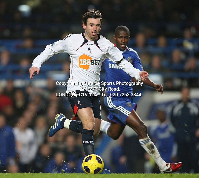 29/12/2010 Premier League football. Chelsea v Bolton Wanderers.<br /> Mark Davies.<br /> Photo: Mark Leech.