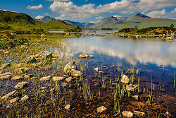 Lochan na h-Achlaise on Rannoch Moor, Highlands of Scotland<br /> <br /> (c) Andrew Wilson | Edinburgh Elite media
