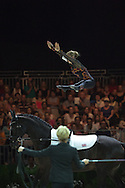 Lucy Phillips, (GBR), Pitucelli, Elizabeth Phillips - Individuals Women Technical Vaulting - Alltech FEI World Equestrian Games&trade; 2014 - Normandy, France.<br /> &copy; Hippo Foto Team - Jon Stroud<br /> 04/09/2014