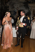 MARGARET CROW; ARTHUR DE BORMAN, Bella Howard 30th birthday, Castle Howard, Dress code: Flower Fairies and Prince Charming, 3 September 2016