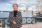 Julie Andrews visits Sydney for the first time
