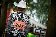 Western rider, 4H county fair horse show