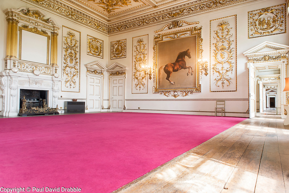 Wentworth Woodhouse - Whistlejacket Room  <br />