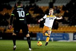 Callum Guy of Port Vale shoots at goal - Mandatory by-line: Robbie Stephenson/JMP - 20/01/2017 - FOOTBALL - Vale Park - Stoke-on-Trent, England - Port Vale v Bury - Sky Bet League One