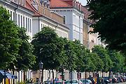 Dresden Neustadt, Koenigstrasse, Barockhaeuser, Dresden, Sachsen, Deutschland.|.Dresden, Germany,  Dresden Neustadt, baroque buildings in king street