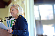 Cindy DiBartolo, CEO of Tigress Financial Partners, speaking at Cognizant event on Women Empowerment, longevity and resiliency in the workplace, The Liberty House, Jersey City, NJ 4/14/16.