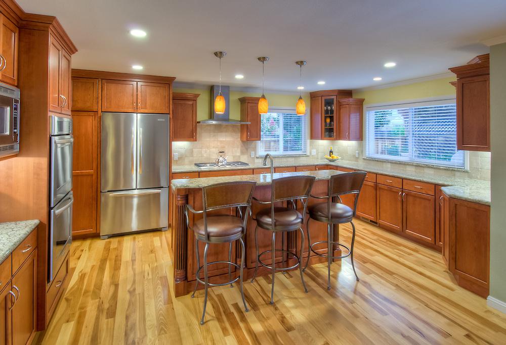 Residential kitchen remodel. Harkey Construction.