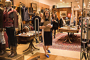 SOPHIE WILSON;, Tatler and Dubarry host an evening with Clare Balding, Dubarry of Ireland, 34 Duke of York's Sq. London. 13 October 2016.