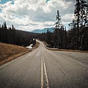 Hyalite Canyon Road. Near Bozeman, Montana. June, 2010